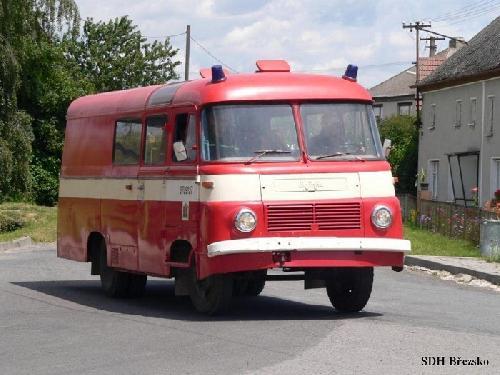 Dopravní automobil Robur (ilustrativní foto)