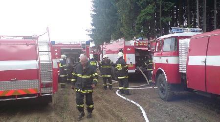 28. 05. 2009 - Obyčtov - požár lesa