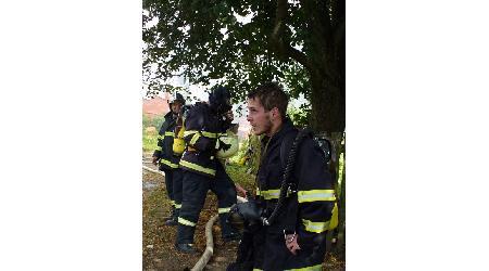 27. 08. 2009 - Pohledec - požár stodoly