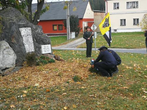 Oslava výročí založení republiky na Dolní Bobrové