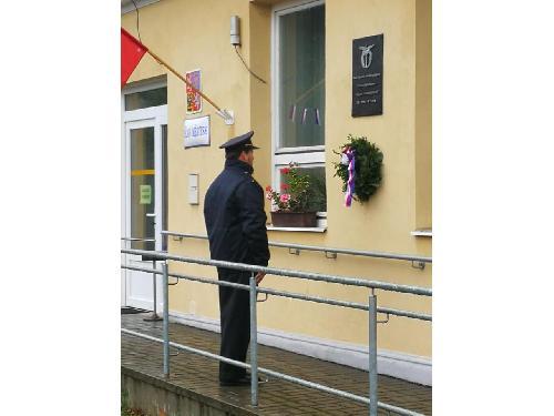 Oslava výročí založení republiky na Horní Bobrové