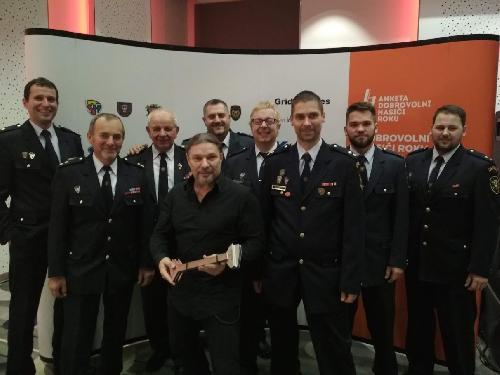 Vyhlášení výsledků ankety Dobrovolní hasiči roku