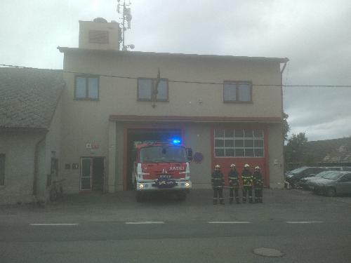Uctění památky zemřelých hasičů